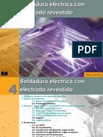 soldadura electrodo revestido