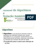 Análise de Algoritmos e Notação Assintótica