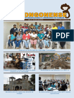 Boletín El Chongonense No 6 - Octubre 2016