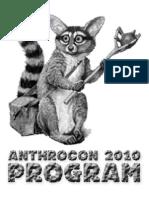 Anthrocon 2010 Programming Guide