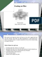 Topic 6- Pile Footing