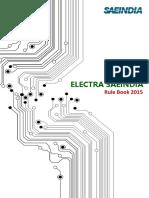 Electra SAEINDIA 2015 Rule Book