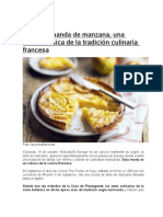Tarta Normanda de Manzana
