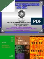 Filsafat Ilmu Ekonomi Adam Smith
