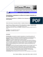 Parasitismo Intestinal en Niños de Círculos Infantiles en Un Municipio