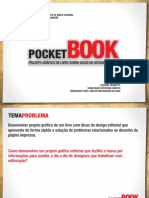 Slides Pocket Book Projeto Grafico de Livro Sobre Dicas de Design Editorial