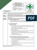 7.2.1.1 SPO Penggunaan Termometer Digital Inframerah