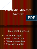 Anaerobes and Anthrax