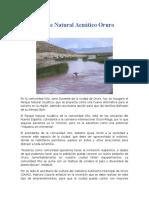 Parque Natural Acuático Oruro