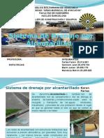 Sistema de Drenaje por Alcantarillado.pptx