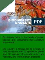 Biodiversity of Romania