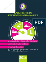 Baromètre de l'expertise automobile 2016