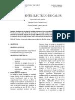 EQUIVALENTE ELECTRICO DEL CALOR