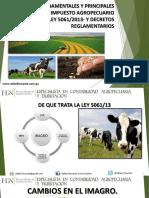 Efectos Del Iragro Ley 5061