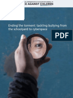 Tackling bullying from the schoolyard to cyberspace Bullying Report by SRSG
