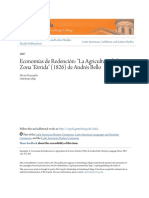 Economías de Redención- La Agricultura de La Zona Tórrida (1826