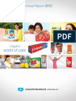 Colgate Pakistan Financial Report 2012