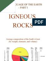 Igneous Rocks