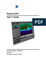 FLIR ResearchIR User Manual1