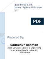 distributedbloodbankmanagementsystemdatabase-130705150314-phpapp01