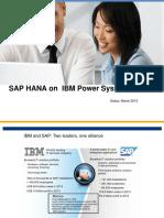 RTP Power Users Group HANA on Power Update 032415