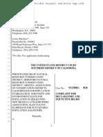 Complaint Plaintiffs v Jeh Johnson, DHS