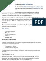 Different Visas - Australian Visa and Australian Immigration Options (Http:::Www.australia-migration.com:Page:Different_Visas:36)