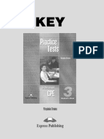 Practice Test for the Revised CPE 3 Key