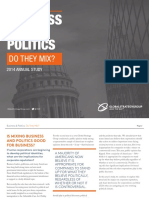 2014 Business and Politics Report