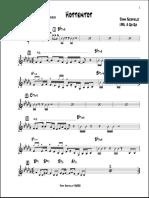 Hottentot - Scofield Lead Sheet