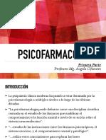 Clase 9 Psicofarmacología 1era Parte