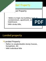 Landed Property Non Landed Property 2