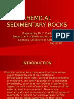 Chemical Sedimentary Rocks