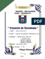Proyecto de Tecnología - Brazo Excavador Hidráulico