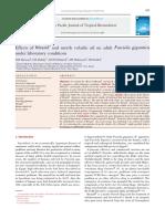 Asian Pacific Journal of Tropical Biomedicine Volume 2 issue 11 2012 [doi 10.1016_s2221-1691(12)60246-9] Massoud, AM; Shalaby, HA; Khateeb, RM El; Mahmoud, MS; Kutkat, M -- Effects of Mirazid® a