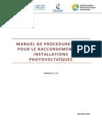 Manuel de Procédures IPV (Nov 2015)