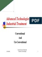 Advanced Technologies Industrial Treatment- Rana Habash