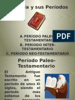 2. La Biblia.periodos