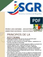 Sistema General de Regalias