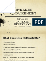 sophomore guidance night 2016