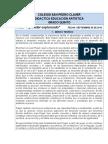 Didactica de EducaciónArtística