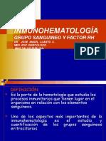 INMUNOHEMATOLOGÍA FISIOLOGIA PRACTICA.ppt