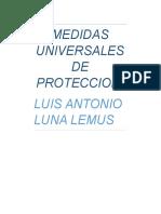 Medidas Universales de Proteccion