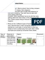 earthquake guided notes
