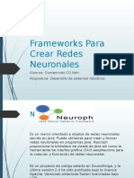 Frameworks Para Crear Redes Neuronales