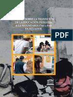 Estudio Transicion Primaria-secundaria