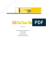 CAB End User Manual Pt I