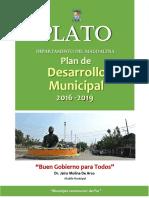 Plan Desarrollo Plato Buen Gobierno Para Todos 2016 2019