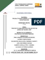Pet. Protocolo de Investigacion Pet