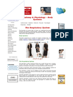 Physiology of the Respiratory Sys